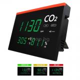 Монитор за качеството на въздуха, CO2 до 9999 ppm,  температура и влажност