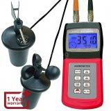 Многофункционален термо анемометър ,измерващ скоростта на вятъра
