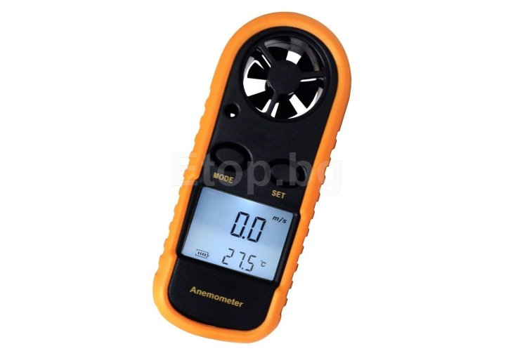 Digital Wind Speed Gauge Sport Anemometer Thermomete​r AM-816 eTop