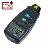 Цифров лазерен безконтактен фото-тахометър RPM измервател