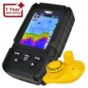 Lucky Rechargeable Fish Finder Colored LCD Fishfinder Wireless Sonar Sensor FF-718LiC-W eTop