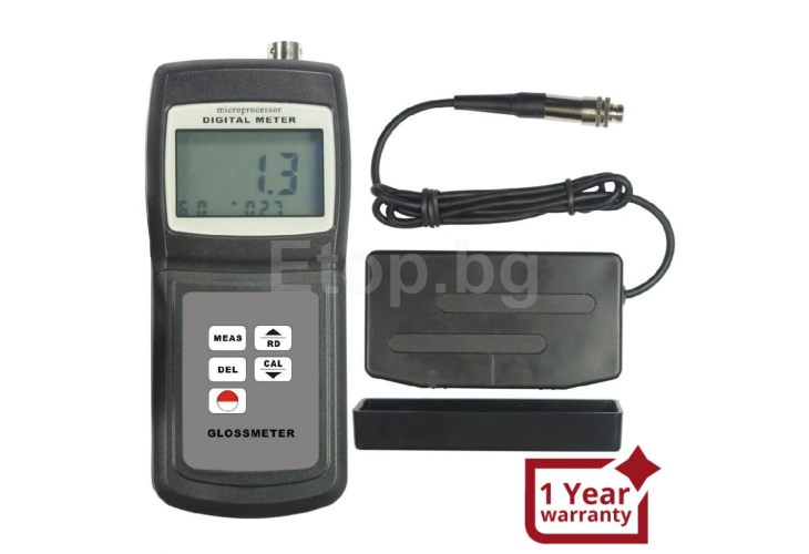 Gloss meter 60 Degrees With Range 0.1 ~ 200 Gloss Units GM-06 eTop