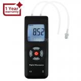 Цифров вакумен газов манометър за измерване на диференциално налягане