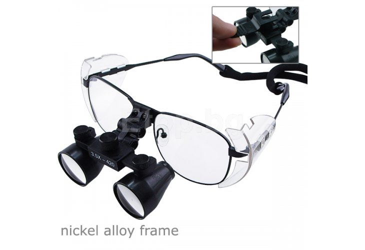 Nickel Alloy 3.5x Frame Dental Surgical Medical Loupe