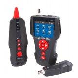 Кабел тестер за мрежови, телефонни, RJ45, RJ11, BNC кабели, POE, PING, Cat 7
