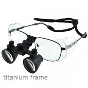 Titanium 2.5x Frame Dental Surgical Binocular Loupes