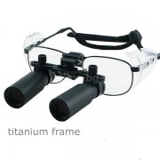Titanium Frame 6.0x Dental Loupes Surgical Medical