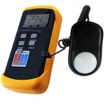 Digital Light Level Meter 200,000 Lux Photo Camera