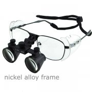 Nickel Alloy 2.5x Frame Dental Surgical Medical Loupes