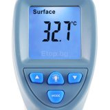Digital IR Non-Contact Thermometer Baby Human Forehead Surface Temperature °C/°F